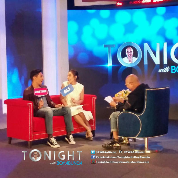 Cristine & Ali on Tonight with Boy Abunda