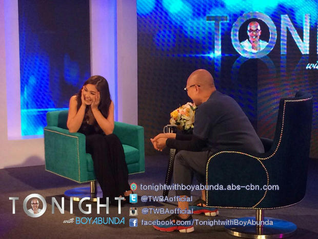 Maja Salvador on Tonight with Boy Abunda