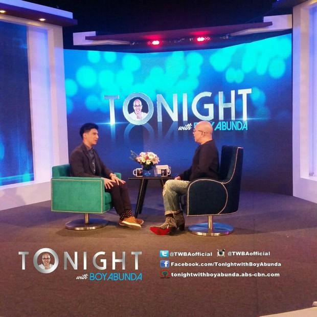 PHOTOS: Albie Casino on Tonight with Boy Abunda