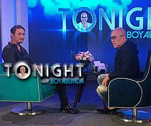 PHOTOS: John Estrada on Tonight with Boy Abunda