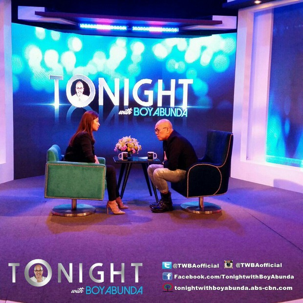Angel Loscin on Tonight with Boy Abunda