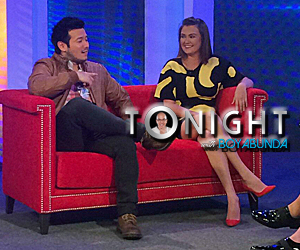 Angelica Panganiban and John Prats on Tonight with Boy Abunda