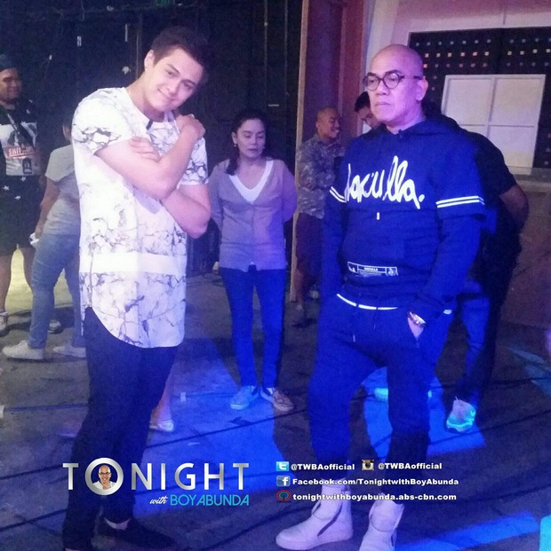 Enrique Gil on Tonight with Boy Abunda