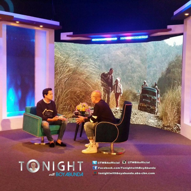 PHOTOS: John Lloyd Cruz on Tonight with Boy Abunda