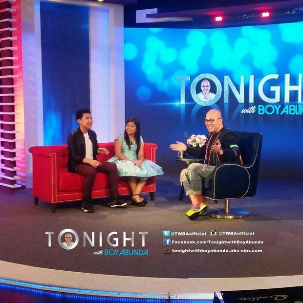 PHOTOS: Darren and Elha on Tonight with Boy Abunda
