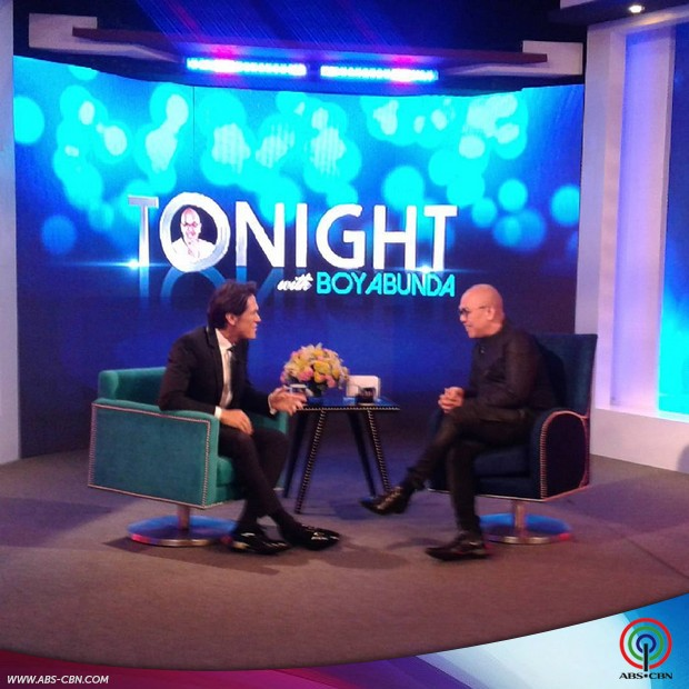 PHOTOS: Mig Ayesa on Tonight with Boy Abunda