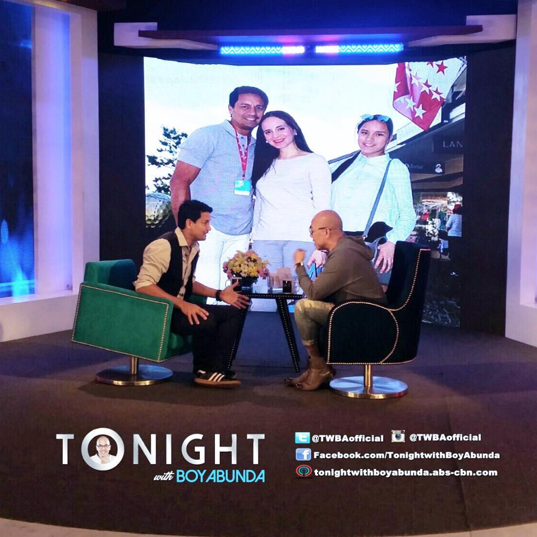 PHOTOS: Richard Gomez on Tonight with Boy Abunda