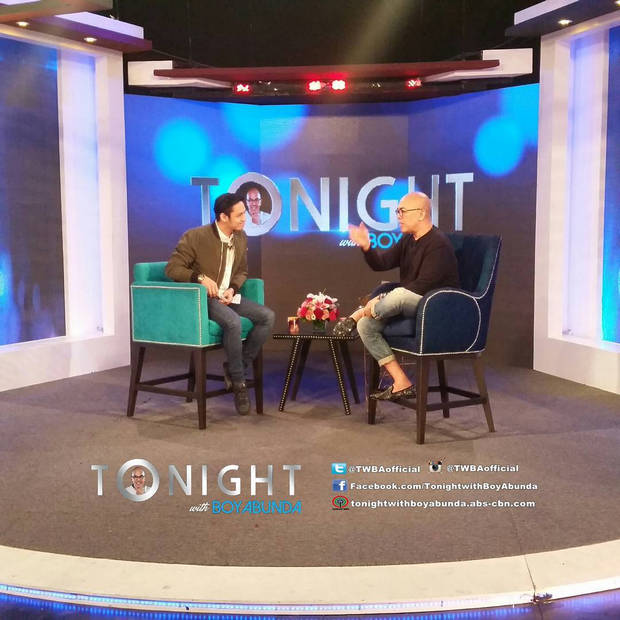 PHOTOS: Michael Pangilinan on Tonight with Boy Abunda
