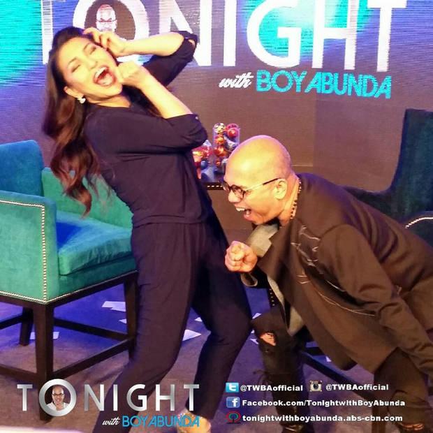 PHOTOS: Asia's Nightingale Lani Misalucha Tonight with Boy Abunda