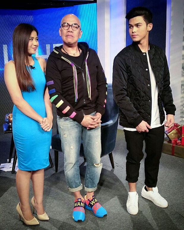 PHOTOS: Miles and Inigo on Tonight with Boy Abunda