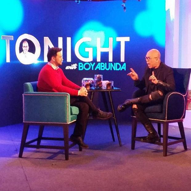 PHOTOS: Billy Crawford on Tonight with Boy Abunda