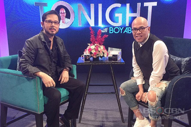 PHOTOS: Christopher De Leon on Tonight With Boy Abunda