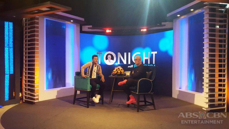 PHOTOS: Jay-R Siaboc on Tonight With Boy Abunda