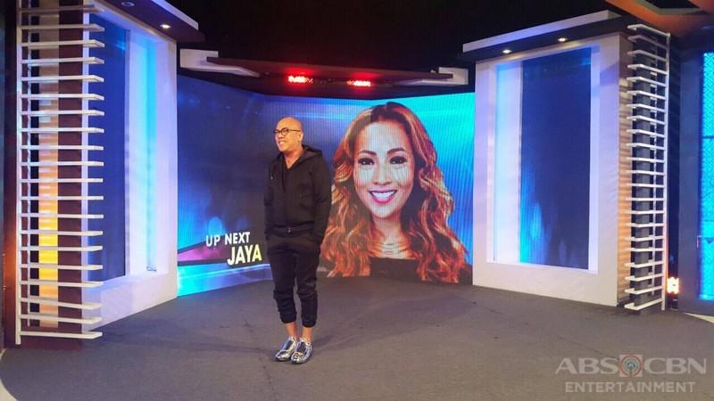 PHOTOS: Jaya on Tonight With Boy Abunda