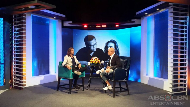 PHOTOS: Andreas Munoz on Tonight With Boy Abunda
