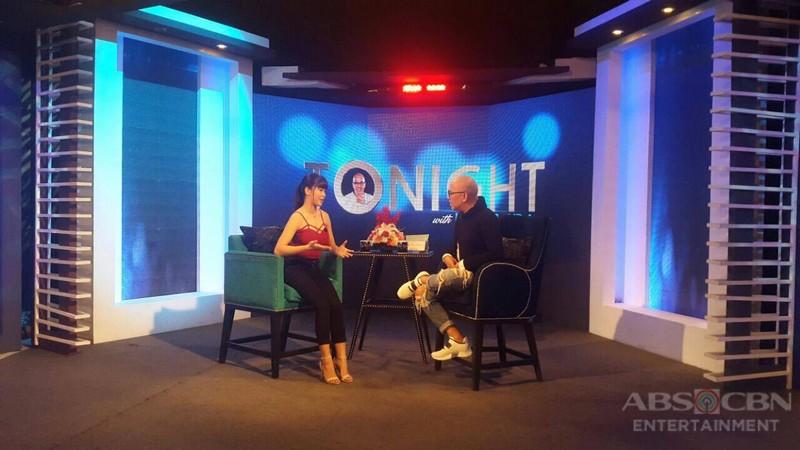 PHOTOS:  Kirsten Delavin on Tonight With Boy Abunda