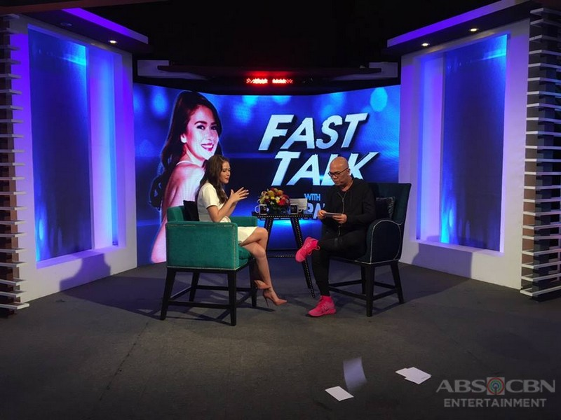 PHOTOS: Bela Padilla on Tonight With Boy Abunda