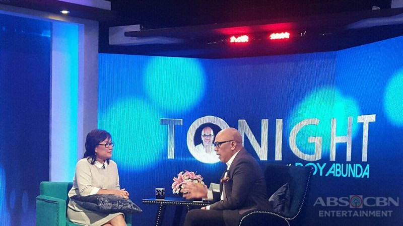 PHOTOS: Direk Olive Lamasan on Tonight With Boy Abunda