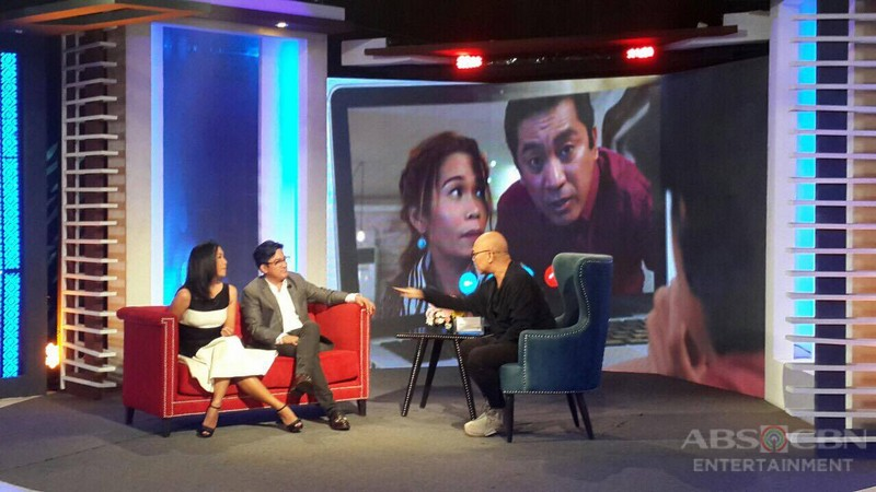 PHOTOS: Isay Alvarez and Robert Sena on Tonight With Boy Abunda