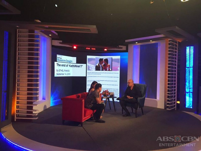 PHOTOS: KathNiel on Tonight With Boy Abunda
