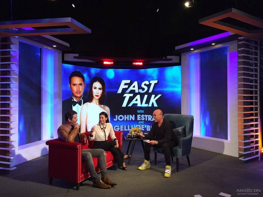 PHOTOS: Gelli De Belen & John Estrada on Tonight With Boy Abunda
