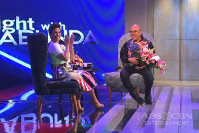 PHOTOS: Lea Salonga on Tonight With Boy Abunda