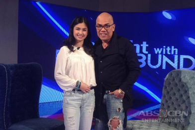 PHOTOS: Heaven Peralejo on Tonight With Boy Abunda