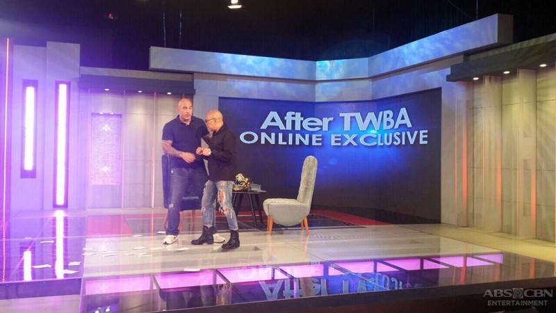 PHOTOS: Brandon Vera on Tonight With Boy Abunda