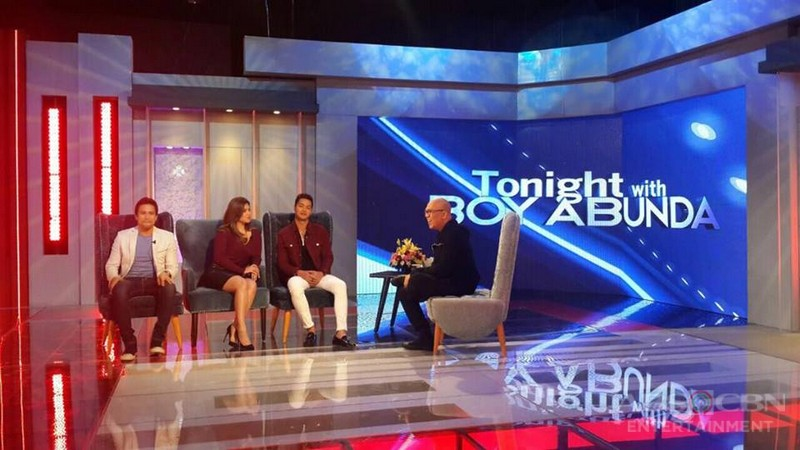 PHOTOS: Angel, Sam and Zanjoe on Tonight With Boy Abunda