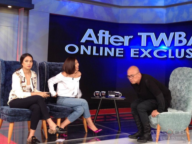PHOTOS: Isabelle Daza and Liz Uy on Tonight With Boy Abunda