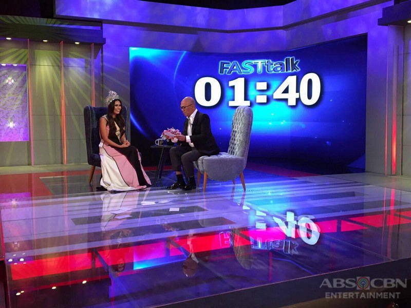 PHOTOS: Angelia Ong on Tonight With Boy Abunda