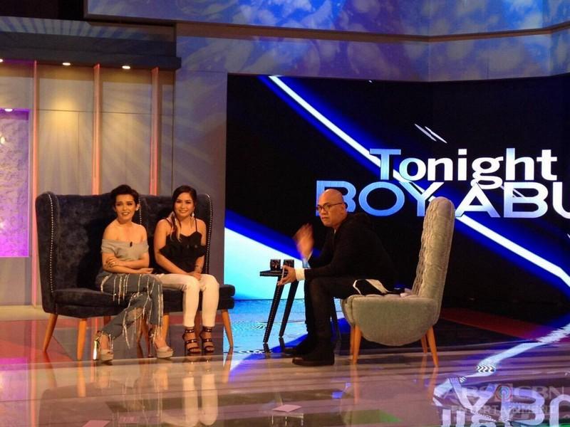 PHOTOS: KZ Tandingan and Yeng Constantino on Tonight With Boy Abunda