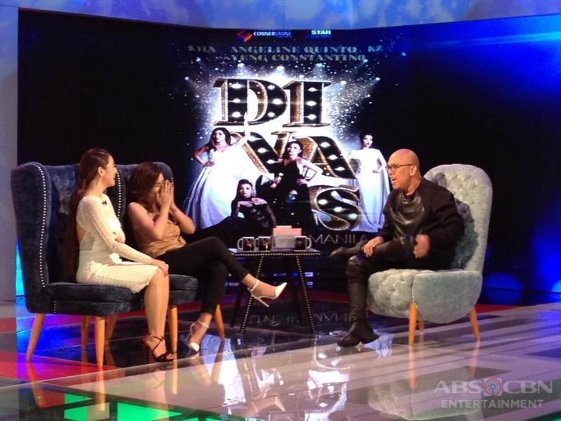 PHOTOS: Kyla and Angeline Quinto on Tonight With Boy Abunda