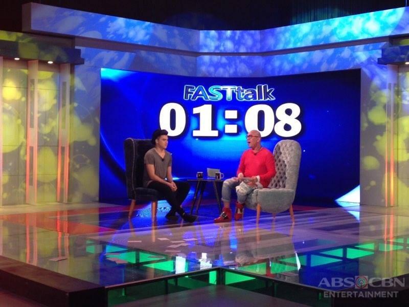 PHOTOS: Markus Paterson and Christian Morones on Tonight With Boy Abunda