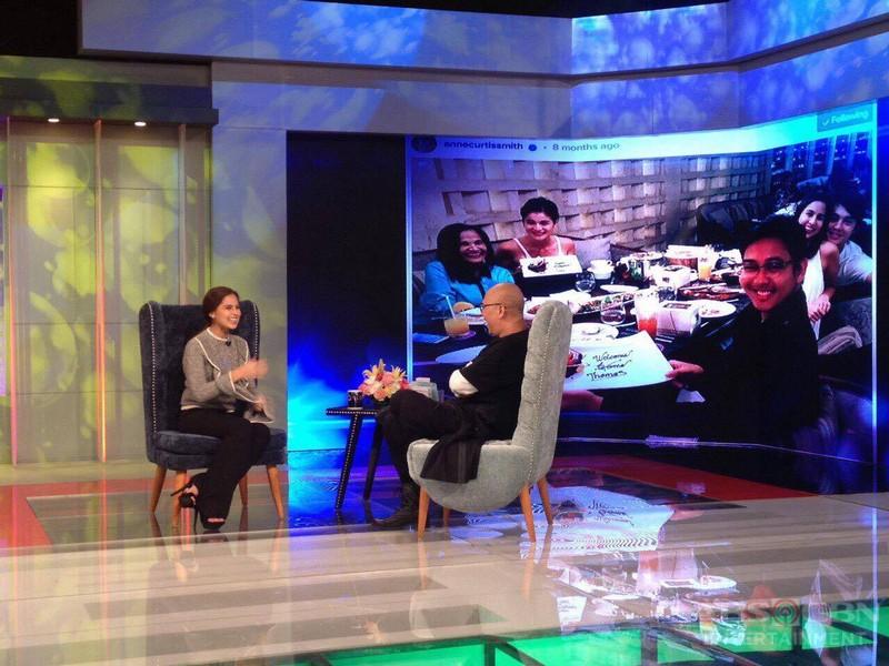 PHOTOS: Mico Juarez and Jasmine Curtis- Smith on Tonight With Boy Abunda