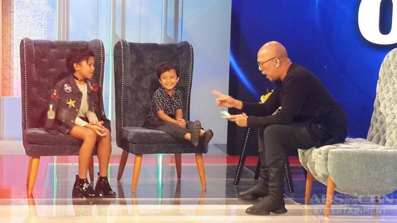 PHOTOS: Awra and Onyok on Tonight With Boy Abunda