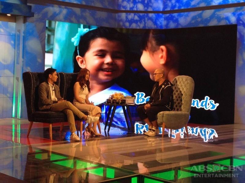 PHOTOS: Jairus Aquino and Sharlene San Pedro on Tonight With Boy Abunda