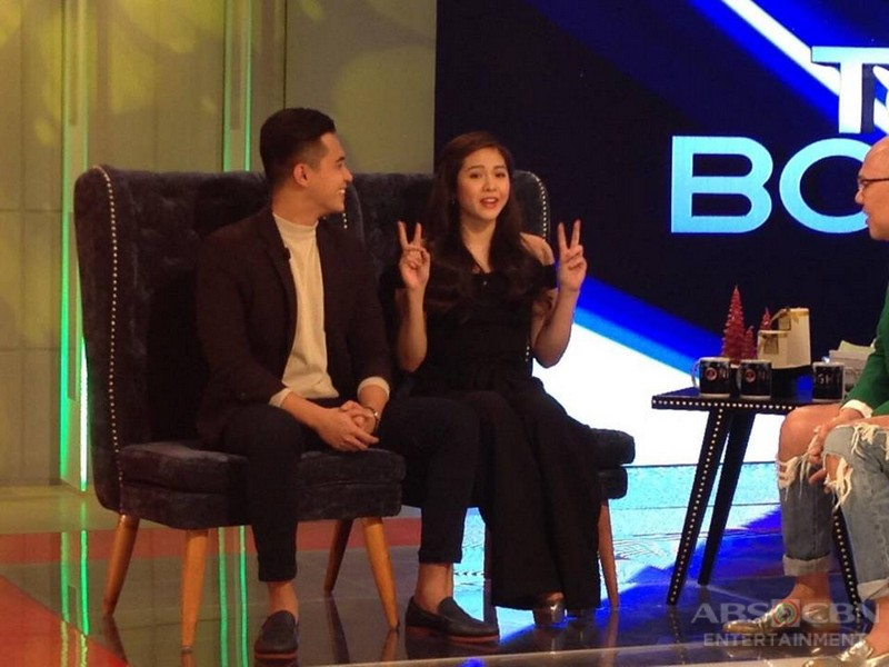 PHOTOS: Marlo Mortel and Janella Salvador on Tonight With Boy Abunda
