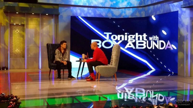PHOTOS: James Cesena on Tonight With Boy Abunda