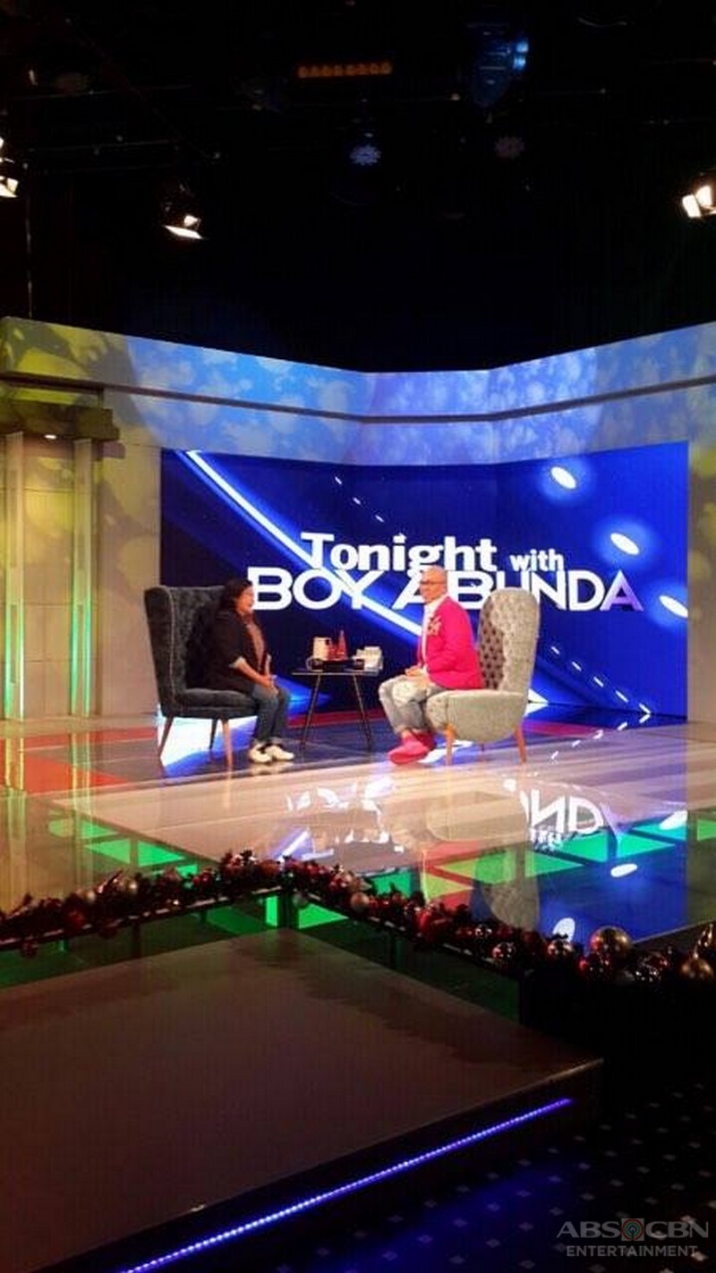 PHOTOS: Nora Aunor on Tonight With Boy Abunda