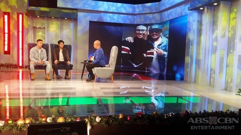 PHOTOS: Mark Oblea & Tony Labrusca on Tonight With Boy Abunda