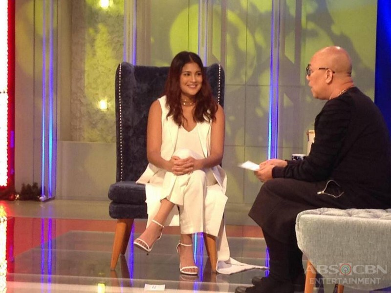 PHOTOS: Kianna Valenciano on Tonight With Boy Abunda