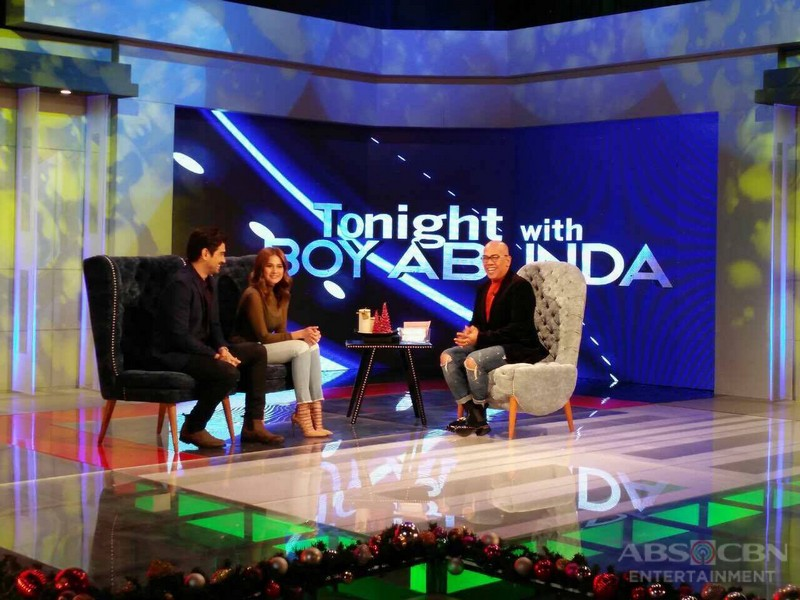 PHOTOS: Ian Veneracion and Bea Alonzo on Tonight With Boy Abunda