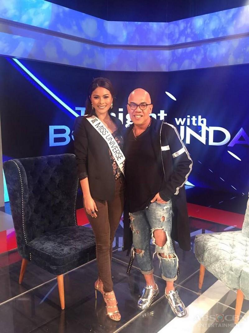 PHOTOS: Maxine Medina and Bayani Agbayani on Tonight with Boy Abunda