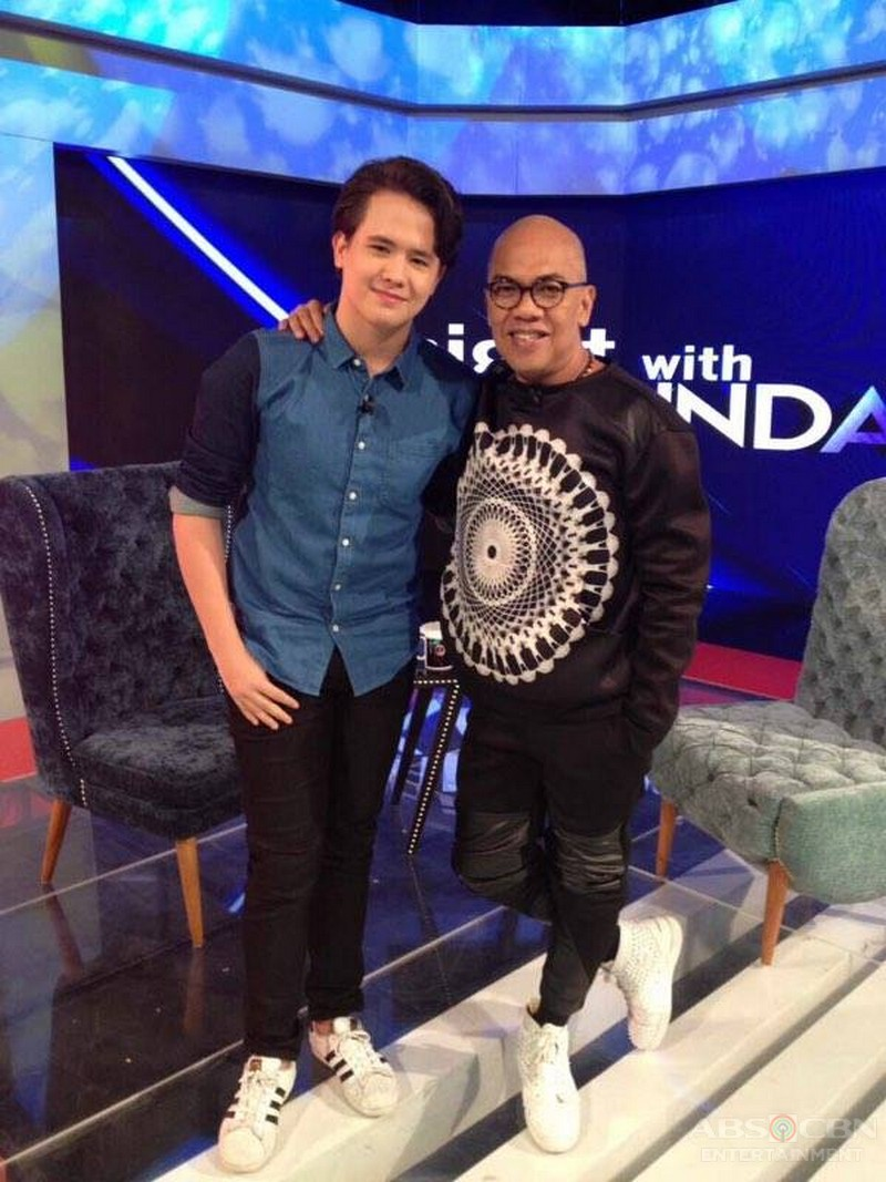 PHOTOS: JK Labajo on Tonight with Boy Abunda