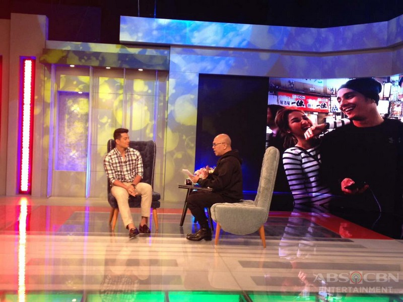 PHOTOS: Ejay Falcon & Pepe Herrera on Tonight With Boy Abunda