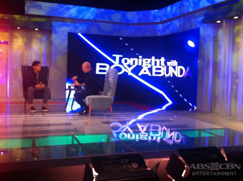 PHOTOS: Zeus Collins on Tonight With Boy Abunda