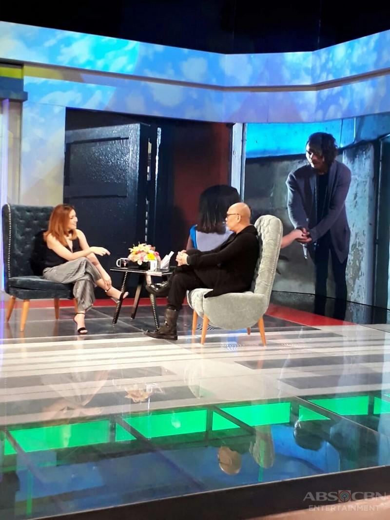 PHOTOS: Angeline Quinto on Tonight with Boy Abunda
