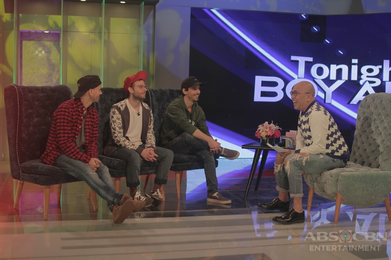 PHOTOS: The Moffatts on Tonight With Boy Abunda