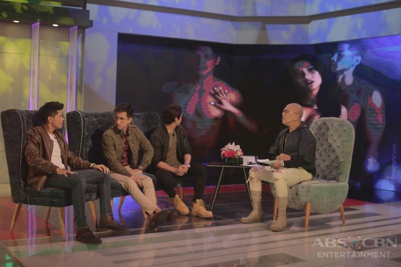 PHOTOS: RK, Vin and Joseph on Tonight With Boy Abunda